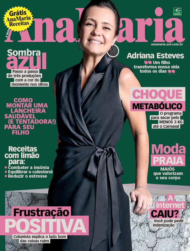 Capa da revista Ana Maria 07/02/2020