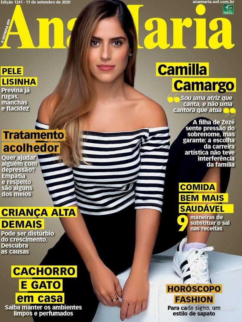 Capa da revista Ana Maria 11/09/2020