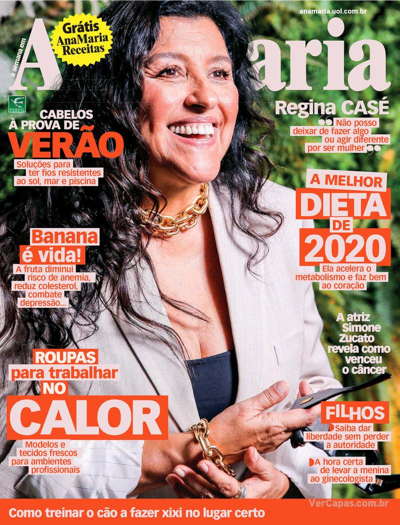 Capa da revista Ana Maria 17/01/2020