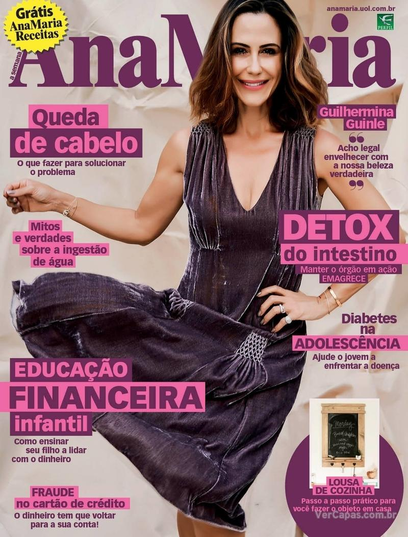 Capa da revista Ana Maria 20/03/2020