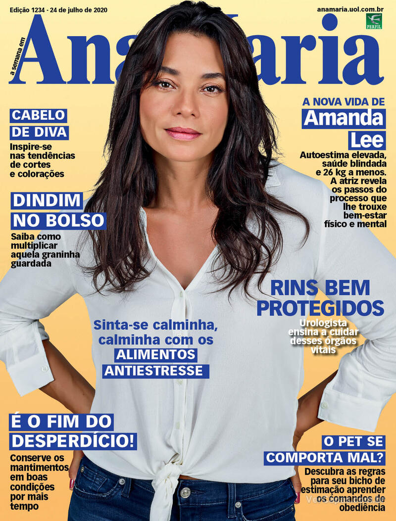 Capa da revista Ana Maria 24/07/2020