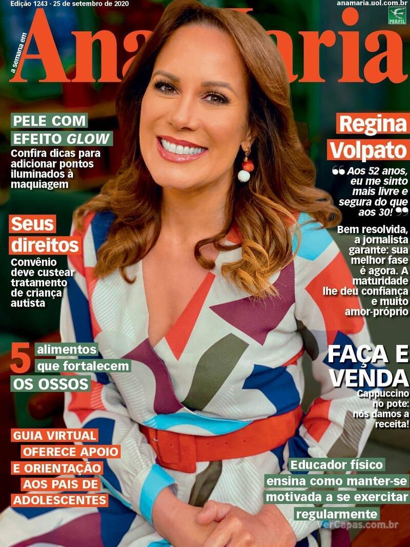 Capa da revista Ana Maria 25/09/2020