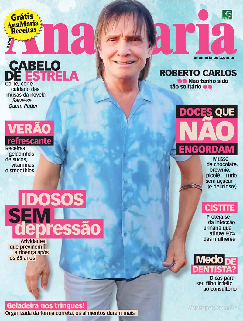 Capa da revista Ana Maria 28/02/2020