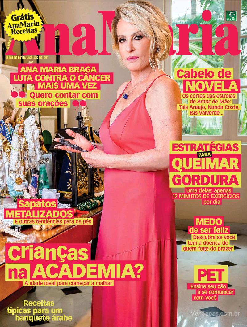 Capa da revista Ana Maria 31/01/2020