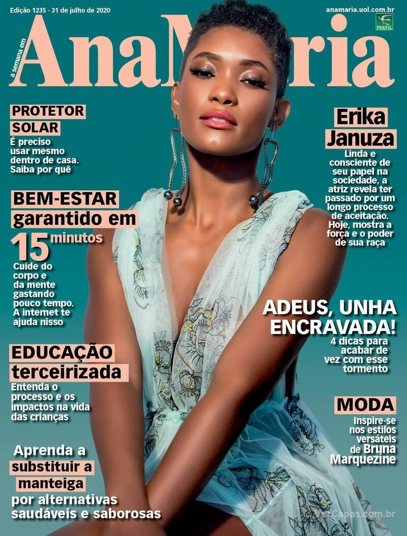 Capa da revista Ana Maria 31/07/2020