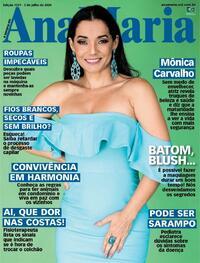 Capa da revista Ana Maria 03/07/2020