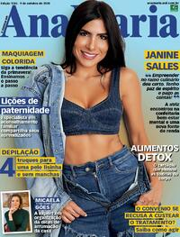 Capa da revista Ana Maria 09/10/2020