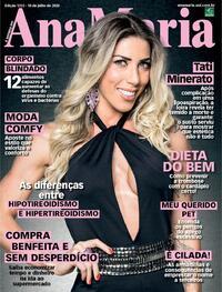 Capa da revista Ana Maria 10/07/2020