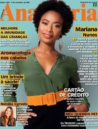 Capa da revista Ana Maria 13/11/2020
