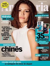 Capa da revista Ana Maria 14/02/2020