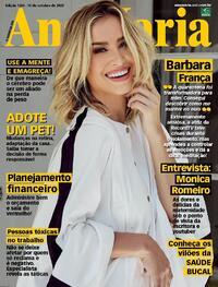 Capa da revista Ana Maria 16/10/2020