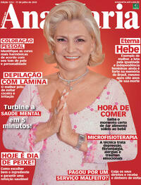 Capa da revista Ana Maria 17/07/2020