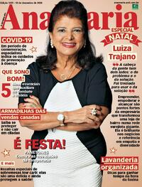 Capa da revista Ana Maria 18/12/2020
