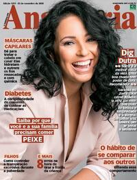 Capa da revista Ana Maria 20/11/2020