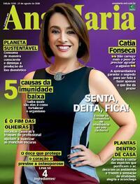 Capa da revista Ana Maria 21/08/2020