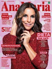 Capa da revista Ana Maria 22/05/2020