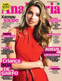 Capa da revista Ana Maria 24/01/2020