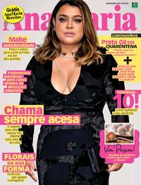 Capa da revista Ana Maria 27/03/2020