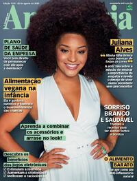 Capa da revista Ana Maria 28/08/2020