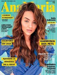 Capa da revista Ana Maria 29/05/2020