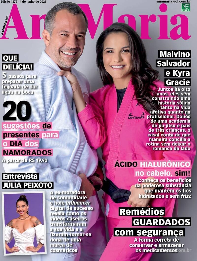 Capa da revista Ana Maria 04/06/2021