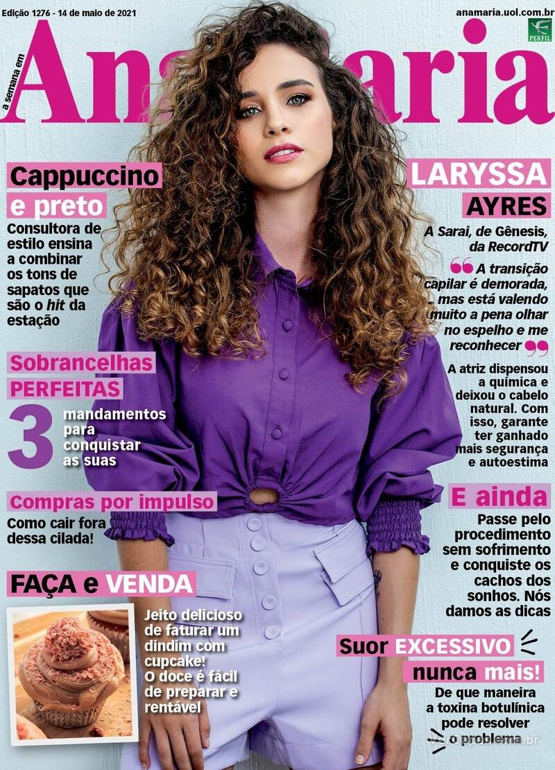 Capa da revista Ana Maria 14/05/2021