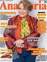 Capa da revista Ana Maria 01/01/2021