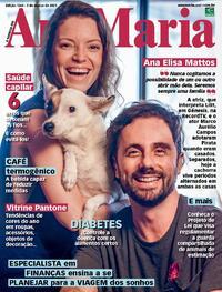 Capa da revista Ana Maria 05/03/2021