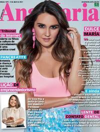 Capa da revista Ana Maria 09/04/2021