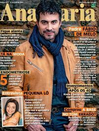 Capa da revista Ana Maria 16/04/2021
