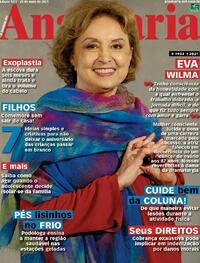 Capa da revista Ana Maria 21/05/2021