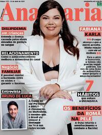 Capa da revista Ana Maria 23/04/2021