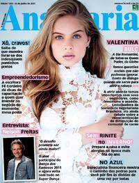 Capa da revista Ana Maria 25/06/2021