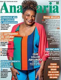 Capa da revista Ana Maria 26/02/2021