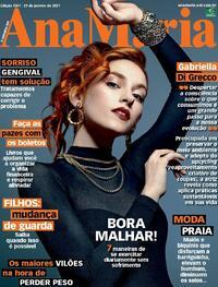 Capa da revista Ana Maria 29/01/2021