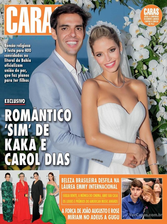 Capa revista Caras 05/12/2019