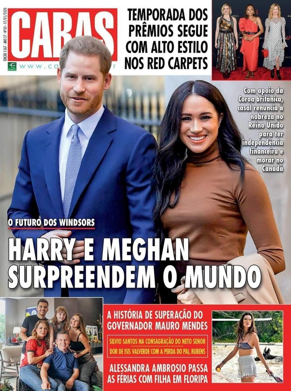 Capa revista Caras 16/01/2020