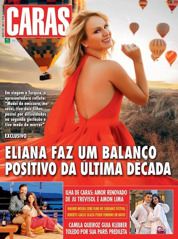 Capa revista Caras 20/02/2020