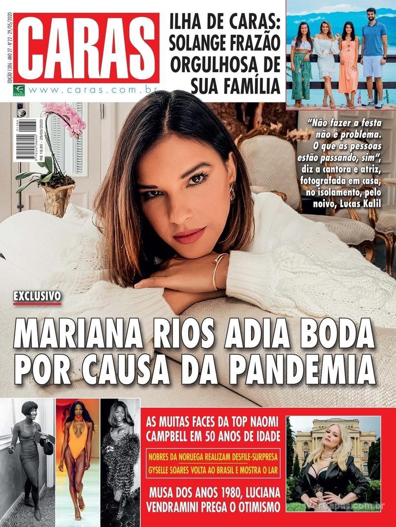 Capa da revista Caras 28/05/2020