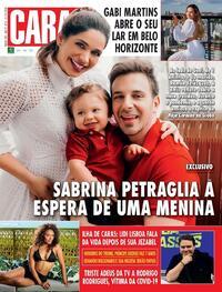 Capa da revista Caras 30/07/2020