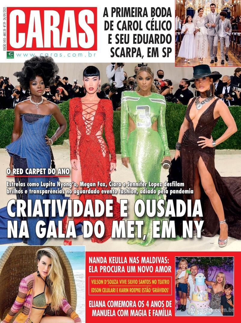 Capa da revista Caras 23/09/2021