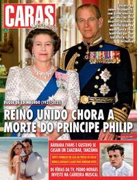 Capa da revista Caras 15/04/2021