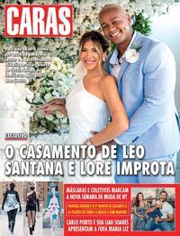 Capa da revista Caras 25/02/2021