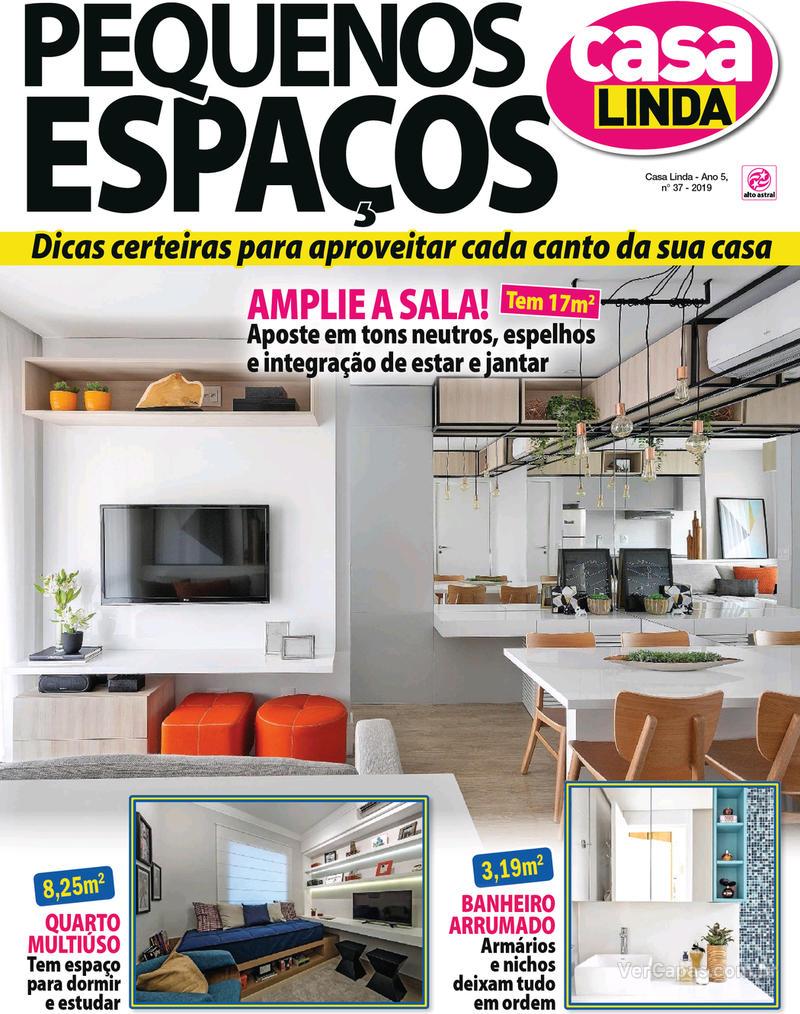 Capa revista Casa Linda 28/05/2019