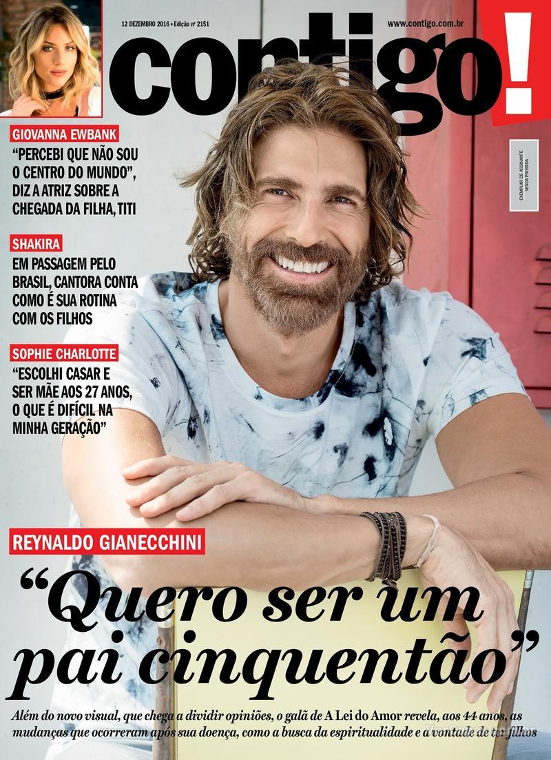 Capa da revista Contigo 10/12/2016