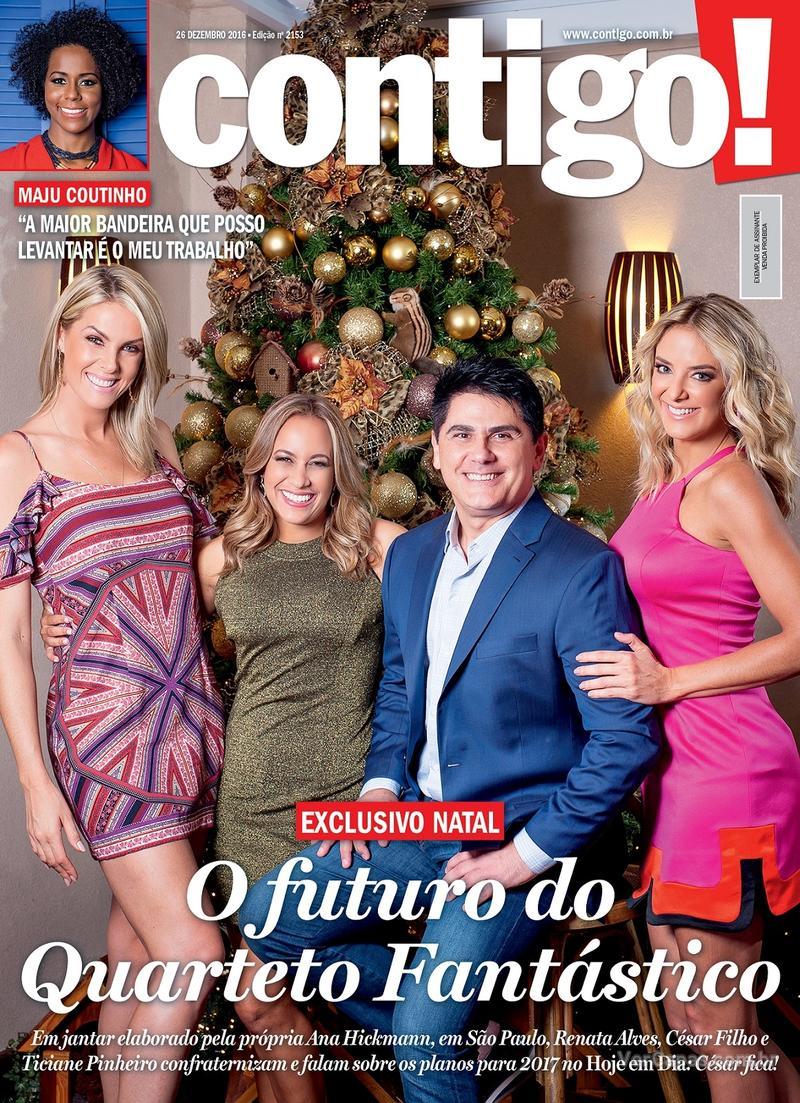Capa da revista Contigo 23/12/2016