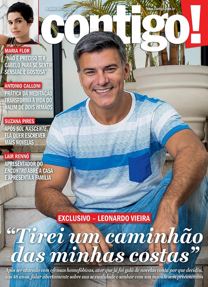 Capa da revista Contigo 14/01/2017