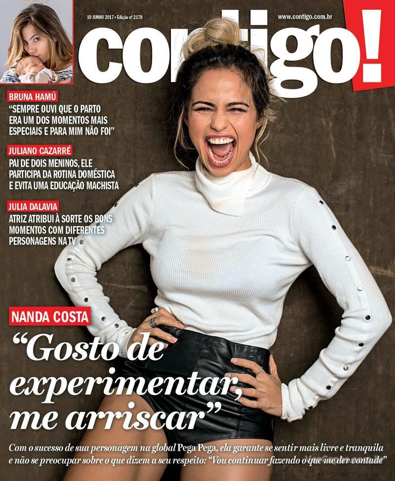 Capa da revista Contigo 15/06/2017