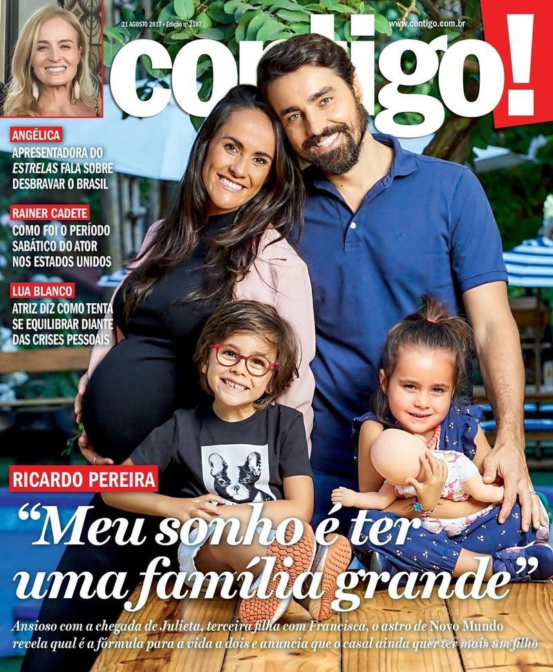 Capa da revista Contigo 17/08/2017