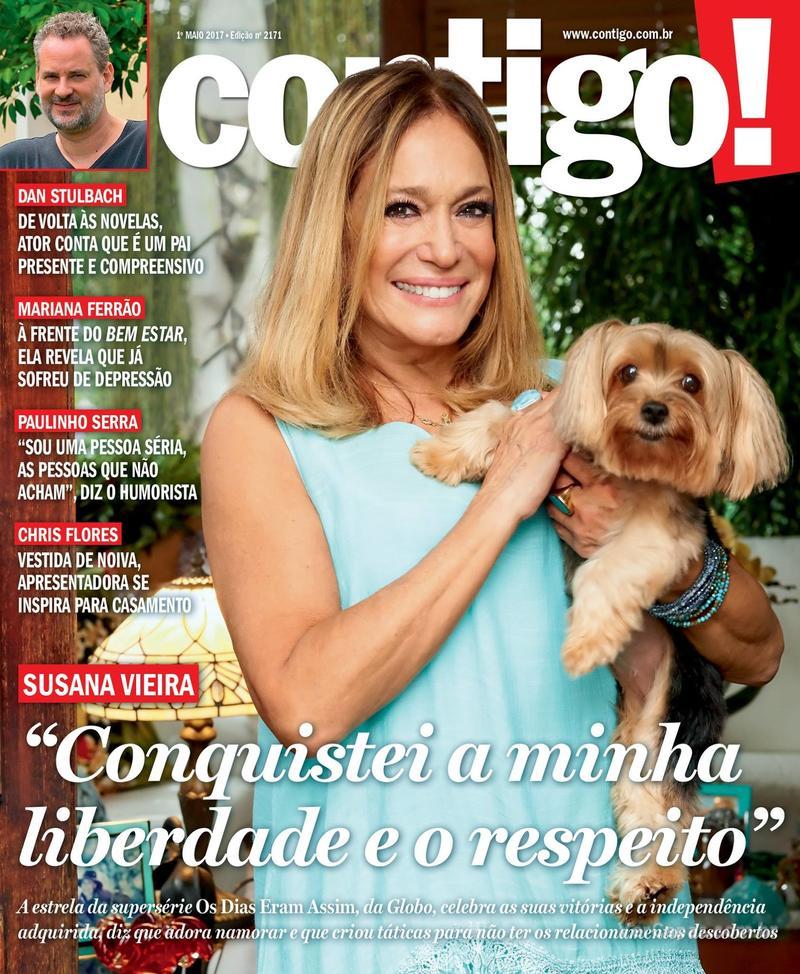 Capa da revista Contigo 27/04/2017